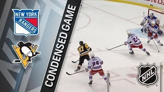 New York Rangers vs Pittsburgh Penguins – Jan. 14, 2018 | Game Highlights | NHL 2017/18. Обзор игры
