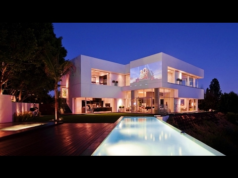 Spectacular Sunset Strip Modern Contemporary Luxury Residence Overlooking West Hollywood, CA, USA