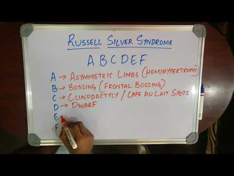 MEDICAL MNEMONIC POCKET-RUSSELL SILVER SYNDROME