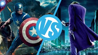 The Avengers VS The Dark Knight : Movie Feuds ep75