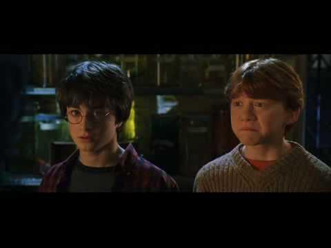 Professor Snape in action!!! HP 2 Scene *grrr*
