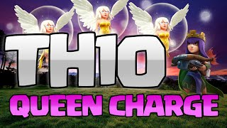 Clash of Clans: TH10 QUEEN CHARGE - Scouting for Myself!