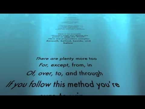 Preposition Poem Saint Helena School