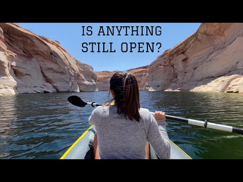 THIS Is Why We Bought A KAYAK: Free Camping Page Arizona