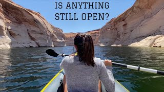THIS is why wę bought a KAYAK: Free Camping Page Arizona
