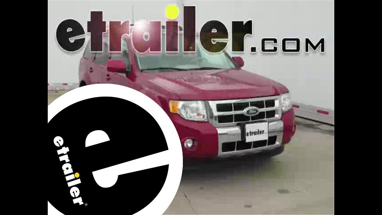 Installation Of A Trailer Brake Controller On 2011 Ford Escape Wiring Etrailercom