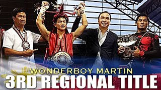 UNDEFEATED MARTIN KO'S INDONESIAN LUMOLY TO WIN HIS 3RD REGIONAL BELT