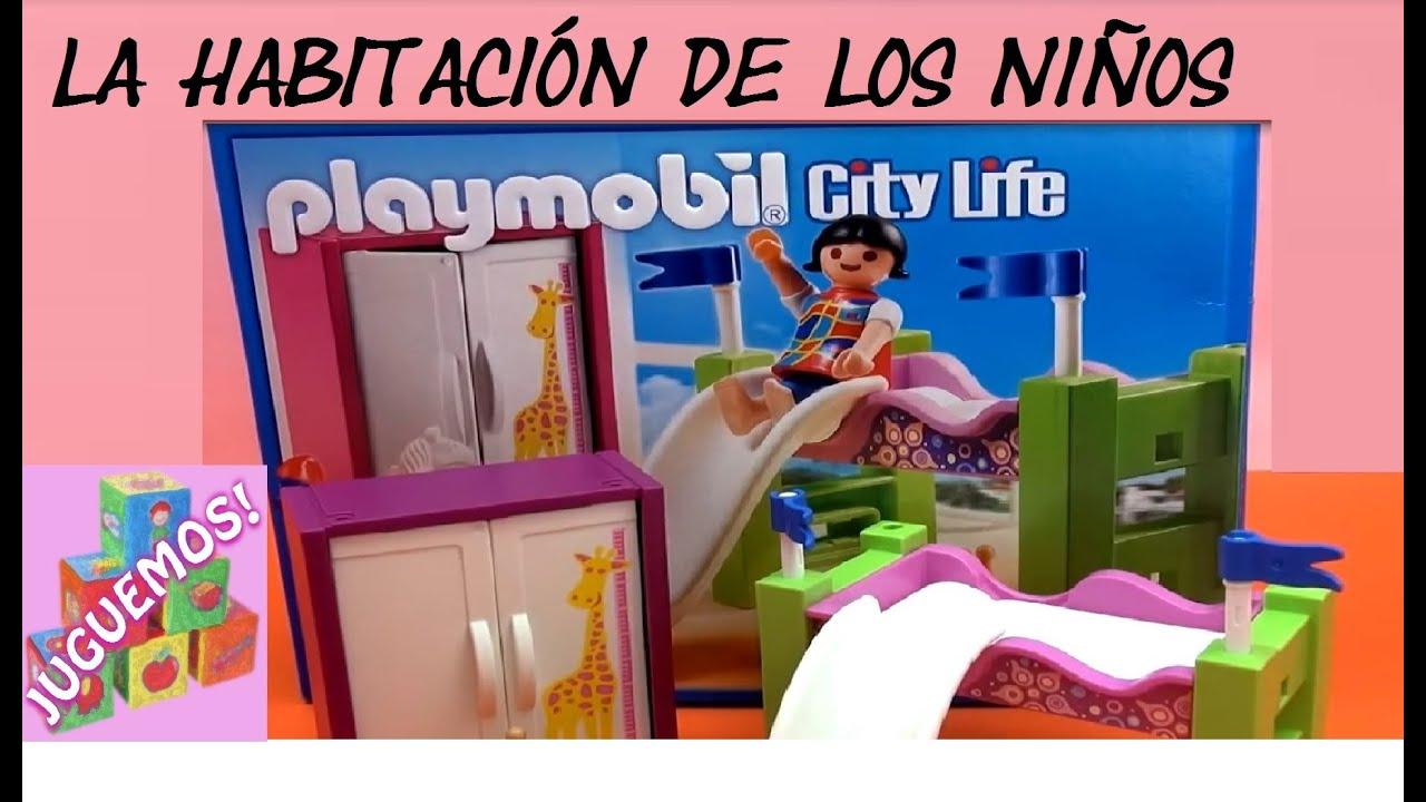 Playmobil la habitaci n de los ni os serie city life - Habitacion para 2 ninos ...