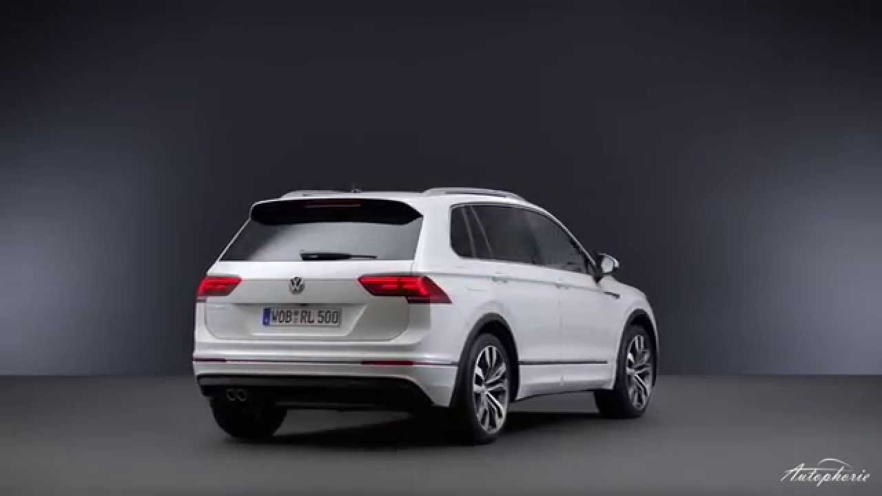 Sneak Preview  Der Neue Vw Tiguan R-line