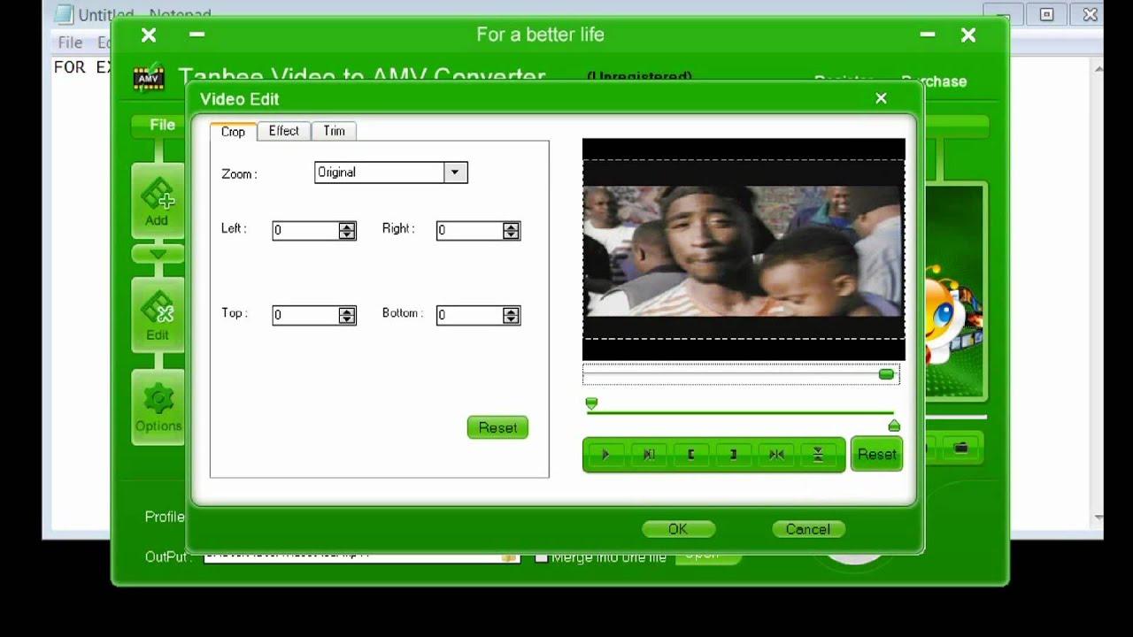 video da youtube in formato amv