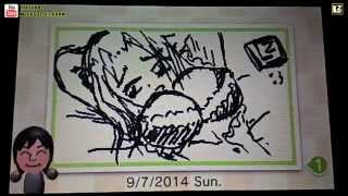 LZ : Swapnote on Nintendo 3DS #1 [Test Drawing Sexy Girl!]