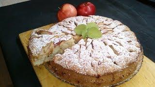 Шарлотка!!! Очень простой и вкусный рецепт яблочного пирога.