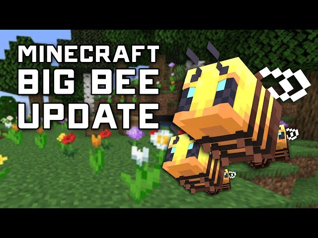 BIG MINECRAFT BEE UPDATE - Snapshot 19b38w - A Look at Apiaries & Wild Bees