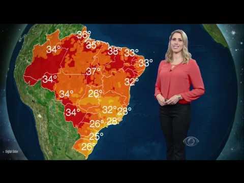 Previsão do tempo: tempo instável em grande parte do país