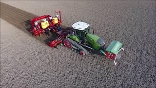 8 Rijen Aardappels Planten Grimme GL 860 Compacta