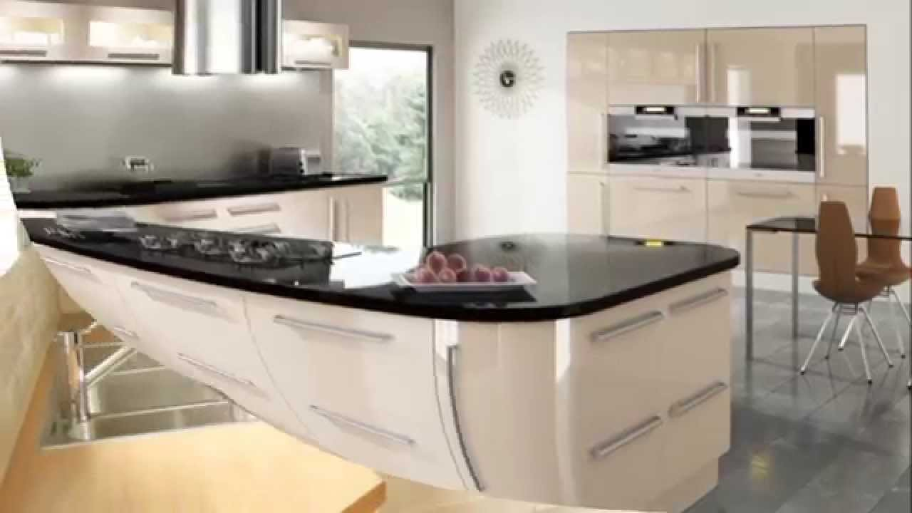 beige k che youtube. Black Bedroom Furniture Sets. Home Design Ideas