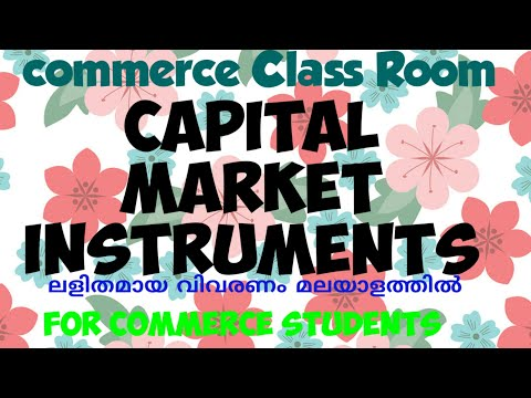 Capital market Instruments (meaning in Malayalam) - YouTube