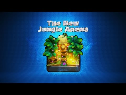 Thumbnail: Clash Royale: Welcome to the Jungle Arena!
