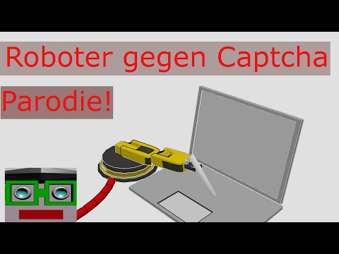 """Roboter schlägt """"I am not a Robot"""" Captcha - Parodie"""