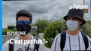 Retour du masque en extérieur en Normandie :