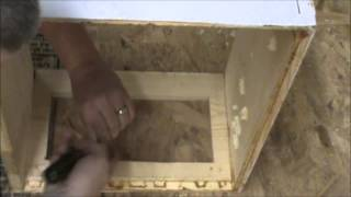 How To Make An Observation Window For Your Bee Hive