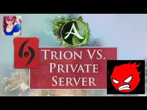 ArcheAge: Trion vs Private Server