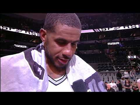 LaMarcus Aldridge explains how well he fits in with the Spurs