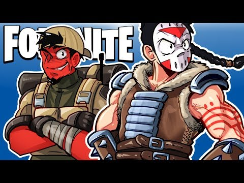 FORTNITE BR - SURVIVNG WITH CARTOONZ! (Full Duo Match)