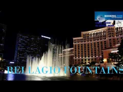 ★★★★★ BELLAGIO FOUNTAINS VIVA #LasVegas HD