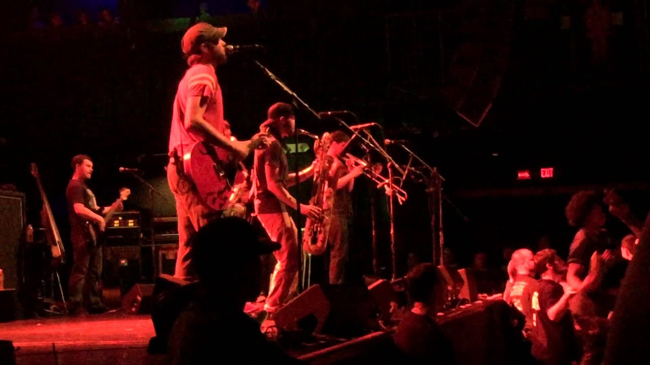 any sort of certainty streetlight manifesto house of blues boston 10 17 14 youtube