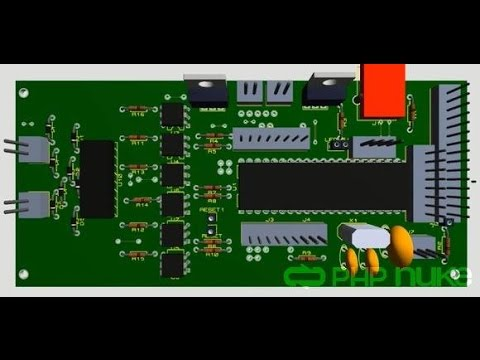 Proteus Circuit and PCB layout design (Basic Tutorial) - YouTube