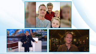 Neil Patrick Harris Is 'Free' from His Twins at Home
