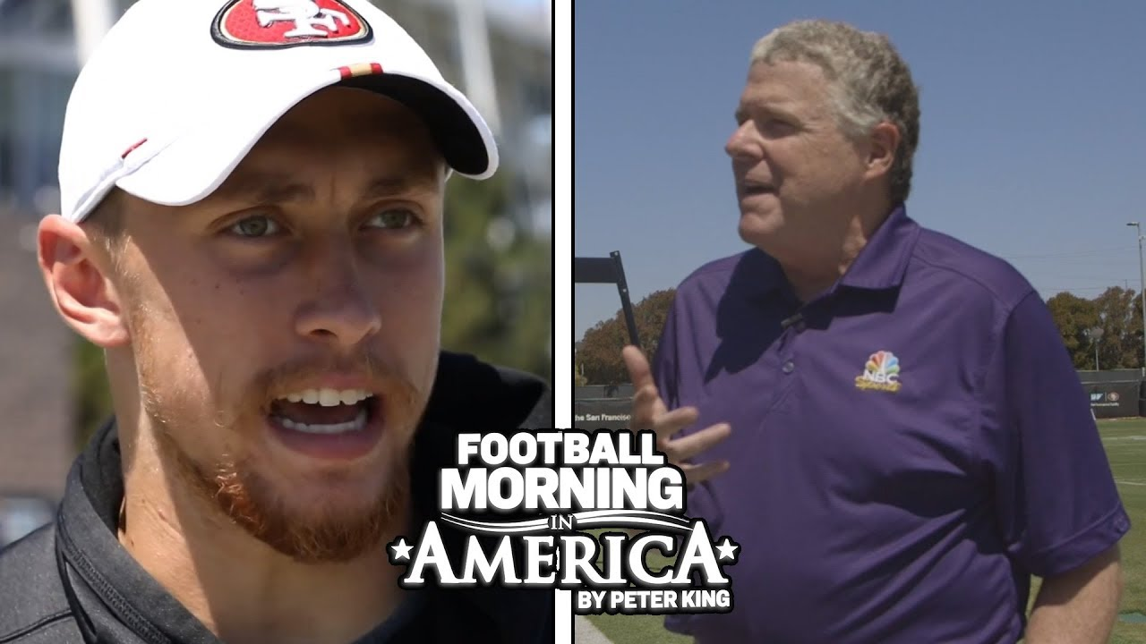George Kittle talks expectations in San Francisco (FULL INTERVIEW) | NBC Sports
