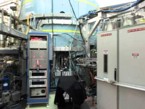 Alcator C-Mod Tokamak - View of Plasma Discharge in Experimental Cell, 1150930010