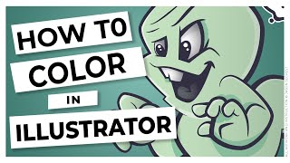 Beginner Adobe Illustrator Tutorial Halloween Coloring Ghost