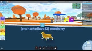 sad lonely puppy - ROBLOX