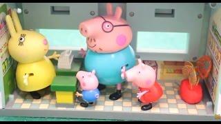 Мультфильм Peppa Pig Свинка Пеппа Сладкая жизнь (лечим зубы)