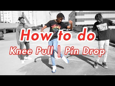 How to Pin Drop | Knee Pull | Double Step Back (Official Dance Tutorial)