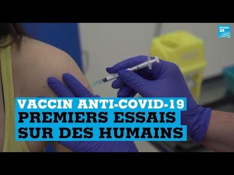 Vaccin anti-Covid-19: premiers essais sur l'humain au Royaume-Uni