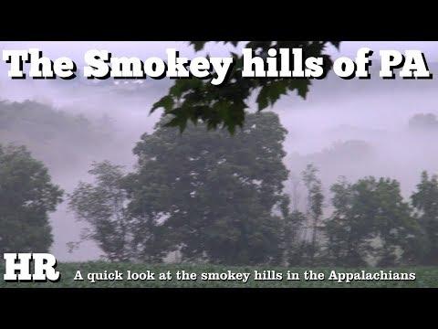 ⟹ The smokey hills of the Appalachian mountains in Pennsylvania USA #penn