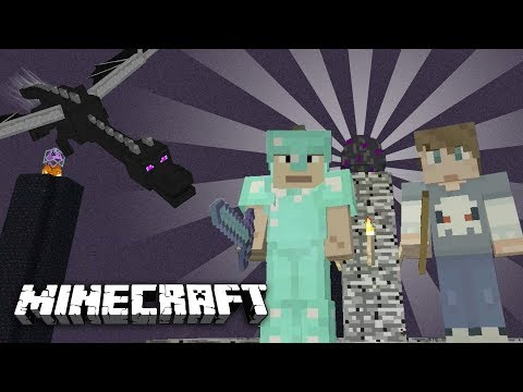 MINECRAFT - WE FOUND A BABY ENDER DRAGON!...