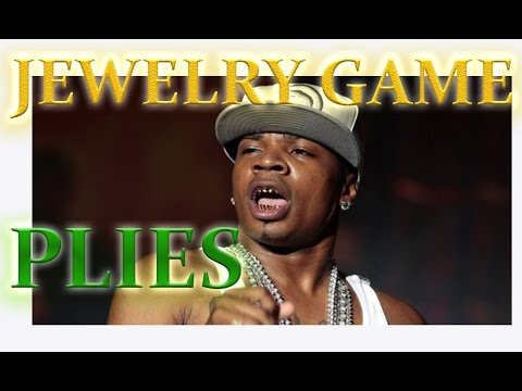 THE JEWELRY GAME: PLIES SHOWS OFF NEW RAN OFF ON THE PLUG TWICE  BRACELET