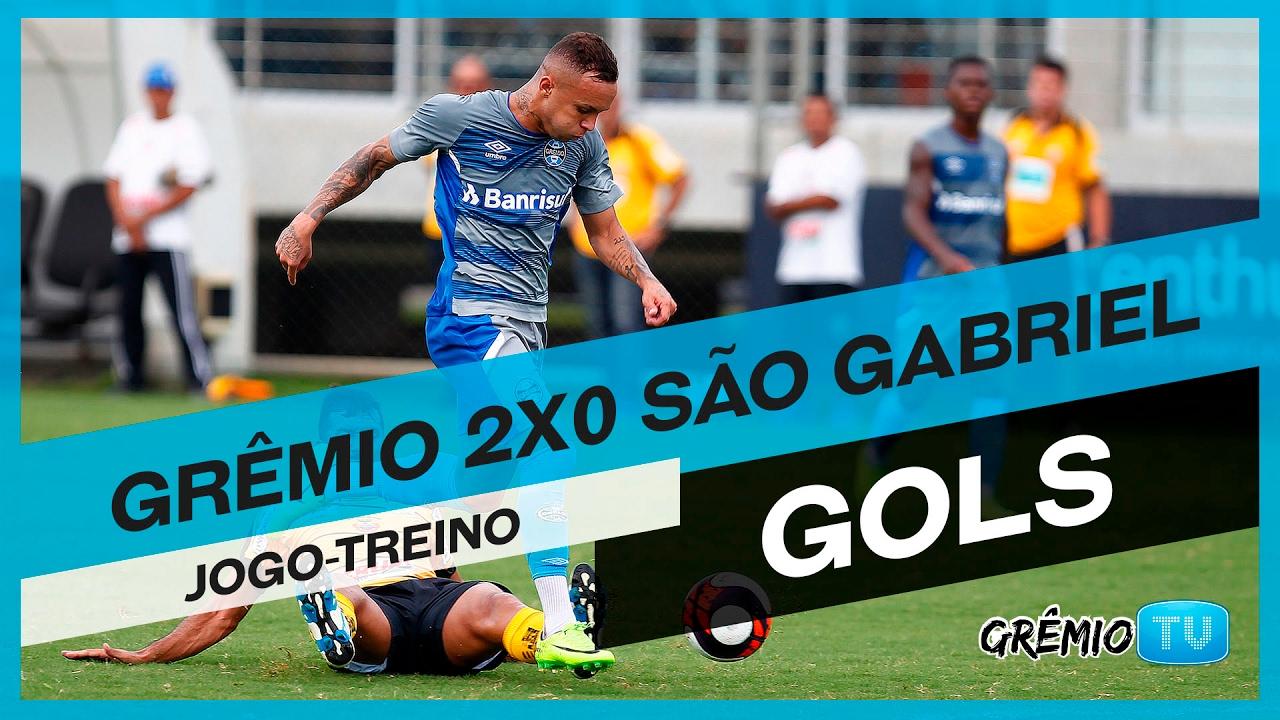 GOLS Jogo-treino: Grêmio 2x0 São Gabriel l GrêmioTV ...