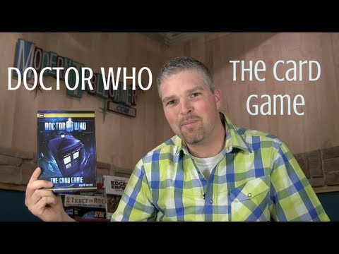 Doctor Who The Card Game -- Rules and Game Play Tutorial