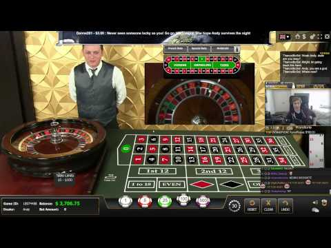 Live Casino - Dealer almost dying