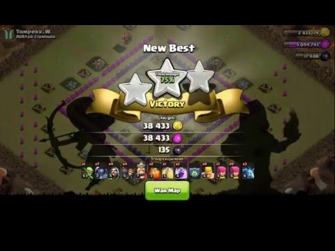 Clash of Clans- PEKKA ATTACK STRATEGY TH 8