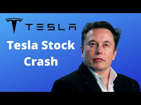 Tesla Stock Crash!! Why is TSLA Stock Dropping? Tesla Stock Price Prediction