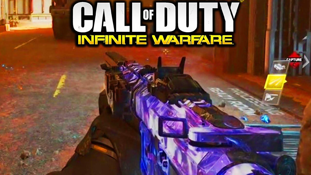 how to change camo in infinite warfare
