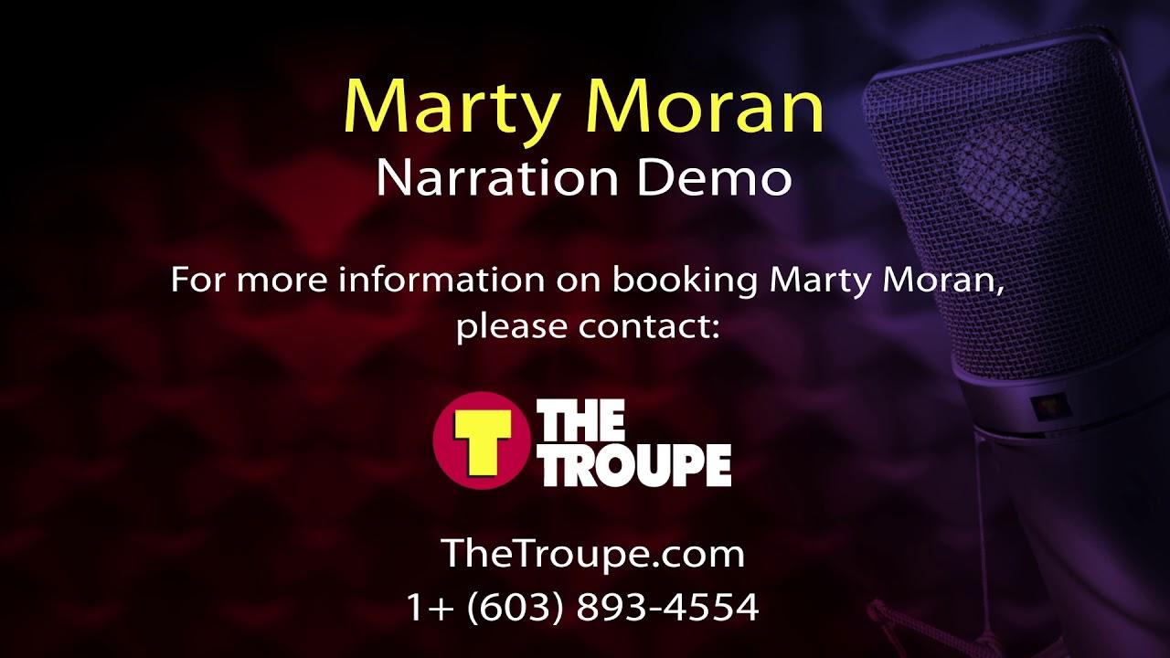 Marty Moran Narration Demo