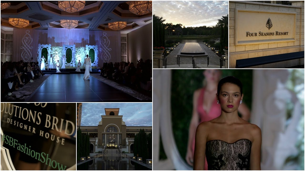 Event Solutions Bridal Fashion Show Four Seasons Resort Orlando At Walt Disney Orlando Fl Youtube